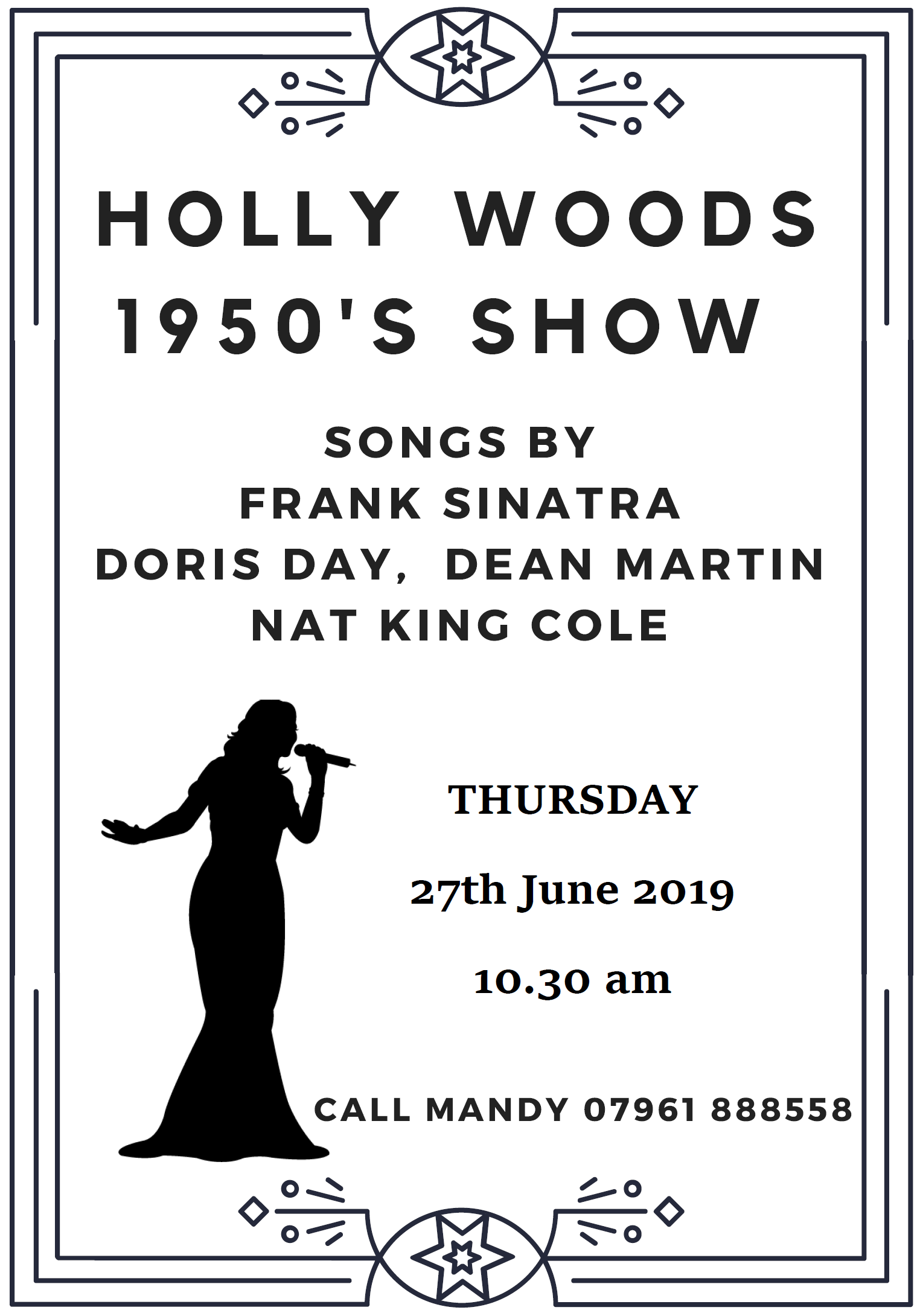 Holly Woods 1950s Show